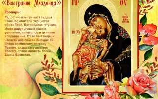 Поздравления с днем иконы «взыграние младенца»