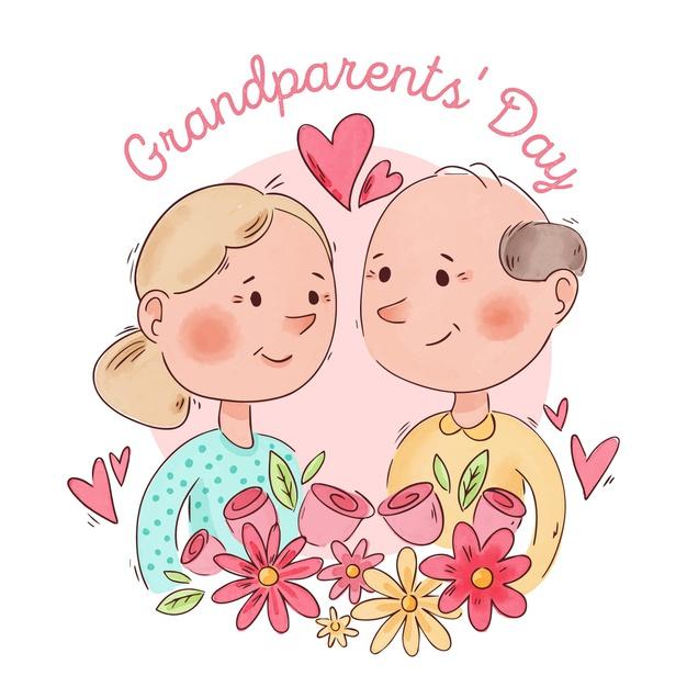 Поздравления с днем бабушки и дедушки