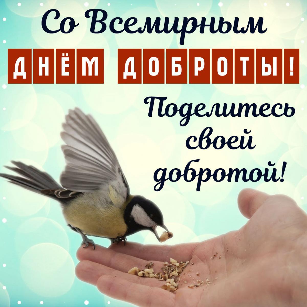 Поздравления с всемирным днем доброты